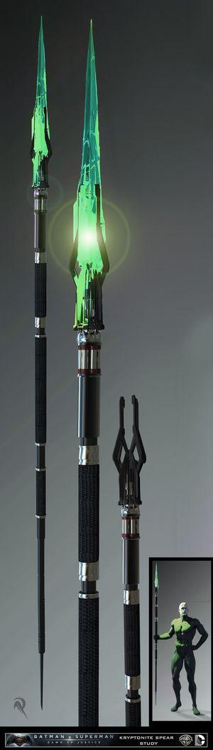 Kryptonite spear concept art