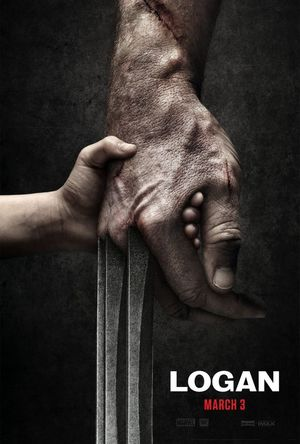 "First official poster for ""Logan"""