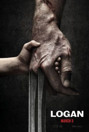 First teaser poster for Wolverine 3, titled Logan