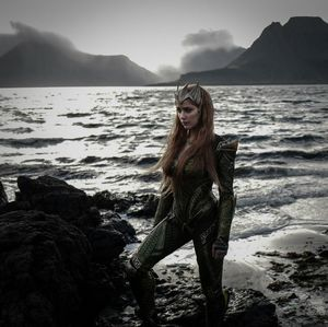 First look at Amber Heard as Queen of Atlantis, Mera