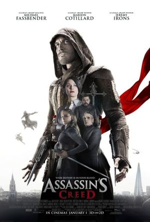 The new 'Assassin's Creed' poster is honestly pretty generic