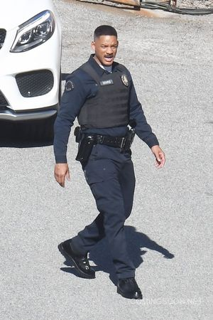 First image of Will Smith in David Ayer's Netflix Feature Fi