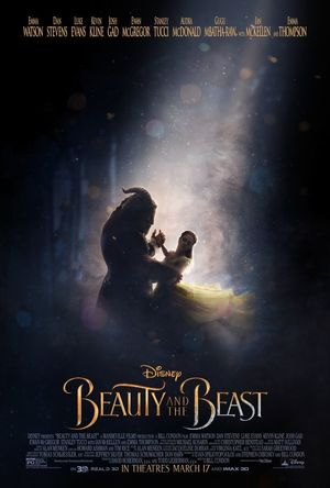A wonderful new teaser poster for 'Beauty and the Beast'