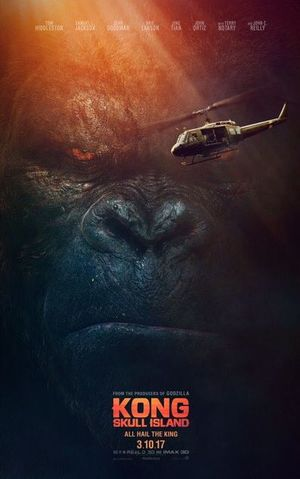 Check out a sweet new poster for 'Kong: Skull Island'
