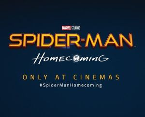 New title card for 'Spider-Man: Homecoming'