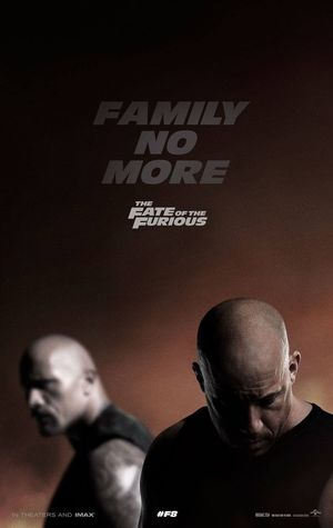 New Fast 8 poster ahead of tonight's trailer premiere.