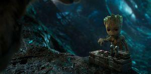 Baby Groot in Guardians Vol 2