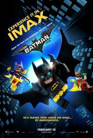 """The Lego Batman Movie"" IMAX poster"