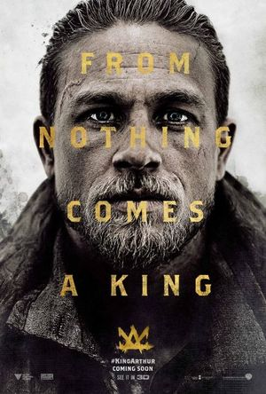 First poster of Charlie Hunnam in 'King Arthur'