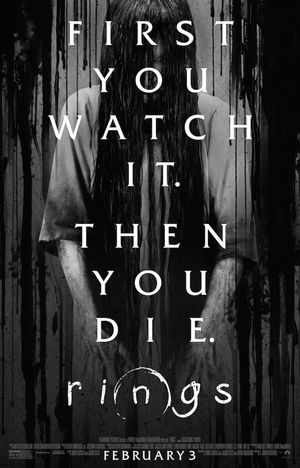 New poster for Rings. Dated for Feb. 3, 2017.
