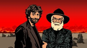 BBC's radio adaptation of Good Omens artwork