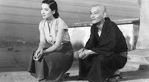 Setsuko Hara and Chishū Ryu in Tokyo Story