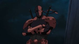 First look at Deathstroke in 'Teen Titans: The Judas Contrac
