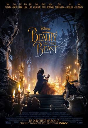 Beauty and the Beast IMAX poster
