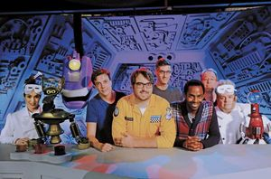 New photo from Netflix's Mystery Science Theater 3000