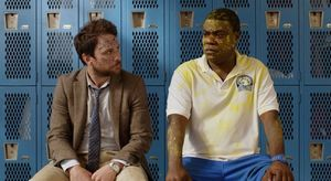 "Charlie Day and Tracy Morgan in ""Fist Fight"""