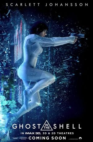 Scarlett Johansson in a new poster for 'Ghost in the Shell'