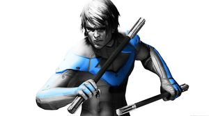 Nightwing, as seen in the Arkham game franchise