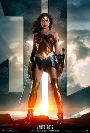 First official poster of Wonder Woman ahead of the official