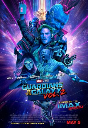 New 'Guardians of the Galaxy Vol 2' poster