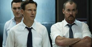 "Tony Goldwyn and John C. McGinley in ""The Belko Experiment"""