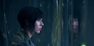 "Scarlett Johansson in ""Ghost in the Shell"""