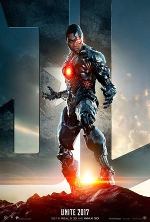 First poster for Cyborg ahead of the official 'Justice Leagu