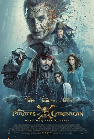 New poster for Pirates of the Caribbean: Dead Men Tell No Ta