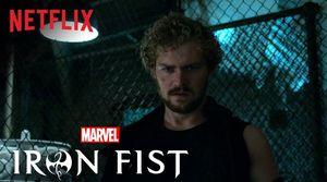 "Finn Jones as ""Danny Rand AKA Iron Fist"""