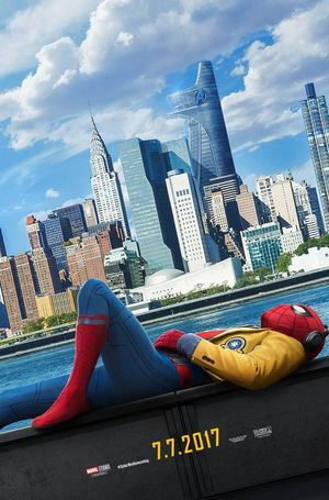 Chill out with Spider-Man in the official poster for 'Spider