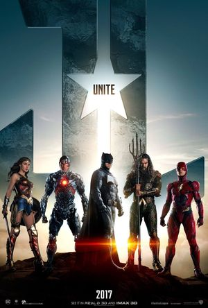 The Justice League unite in first official poster