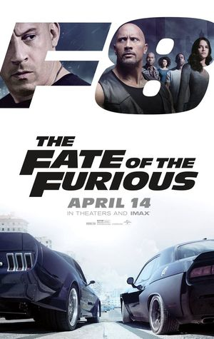 New poster for 'Fate of the Furious'