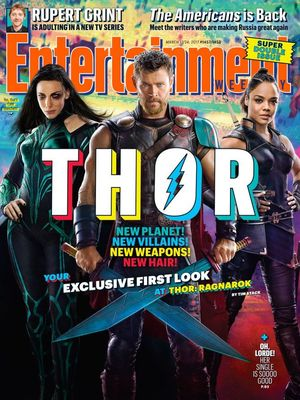 "Entertainment Weekly's ""Thor: Ragnarok"" cover"