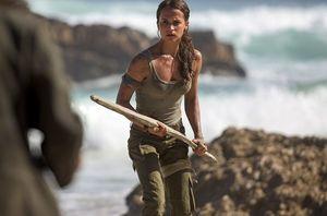 First look: Alicia Vikander in 'Tomb Raider'