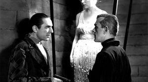 Lugosi & Karloff in The Black Cat
