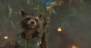 Rocket and Baby Groot