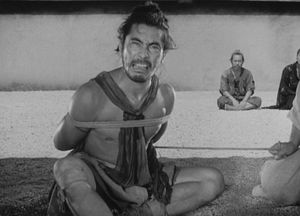 Mifune in Rashomon