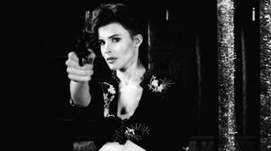 Fanny Ardant is the girl with a gun