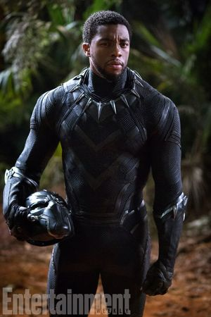 T'Challa, the king of the fictional African nation of Wakanda