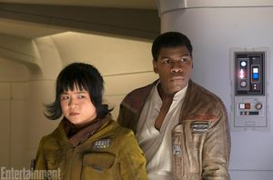 Finn and Rose, on a mission to Canto Bight