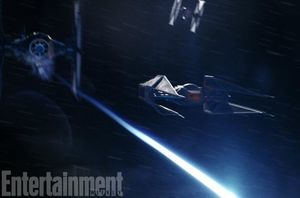 Kylo Ren's new starfighter  The TIE Silencer is a new ship,