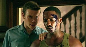 "Will Poulter and Anthony Mackie in ""Detroit"""