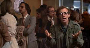 Woody Allen in my favorite scene from Annie Hall