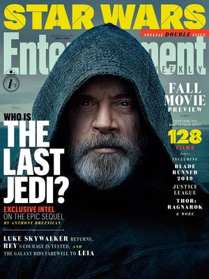 Luke Skywalker on the cover of EW  This year's Fall Movie Pr
