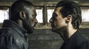 "Idris Elba and Matthew McConaughey in ""The Dark Tower"""