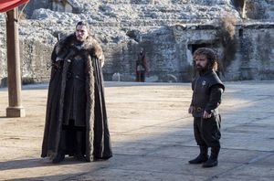 Jon and Tyrion at 'That' discussion