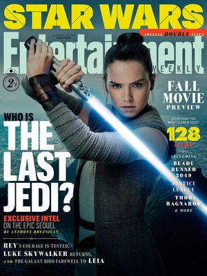 Rey on the cover of EW  Our other cover features Daisy Ridle