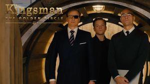 Colin Firth, Taron Egerton, & Mark Strong