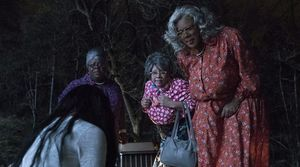 "Cassi Davis, Patrice Lovely and Tyler Perry in ""Boo 2! A Madea Halloween"""
