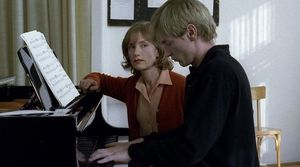 Isabelle Huppert and Benoît Magimel in The Piano Teacher